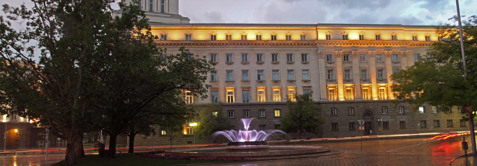 """Народното събрание, Президентството, повечето министерства както и много административни сгради се намират в район """"Средец"""""""